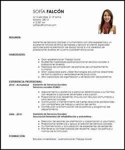 Modelo Curriculum Vitae Asistente De Servicio Social Y Humanitario