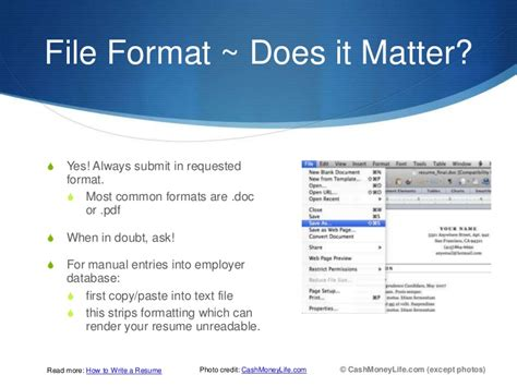 Do Resumes Matter by Does Resume Format Matter Resume Format