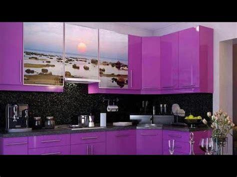 purple kitchen designs اجمل ديكورات المطابخ الموف احدث تصاميم مطابخ باللون الموف 1686