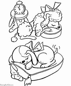 Free Coloring Pages Of Christmas Dogs Christmas Dog ...