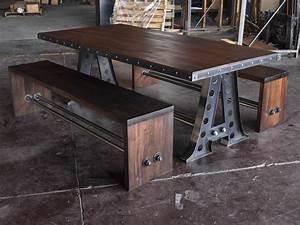 A Frame Dining Table – Vintage Industrial Furniture