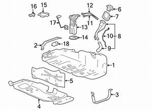 15239258 - Chevrolet Fuel Tank  Tank Assembly