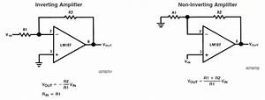 will an inverting op amp configuration still work if i tie With inverting amplifier