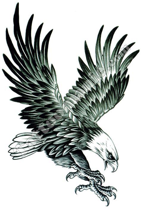 Tatouage Temporaire Aigle Géant Sur Tattoomaniecom