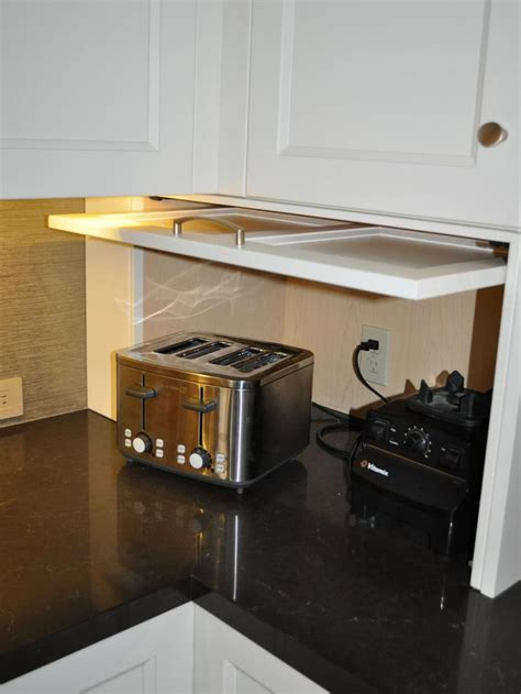 kitchen appliance garage cabinet 17 best images about new house ideas on 5010