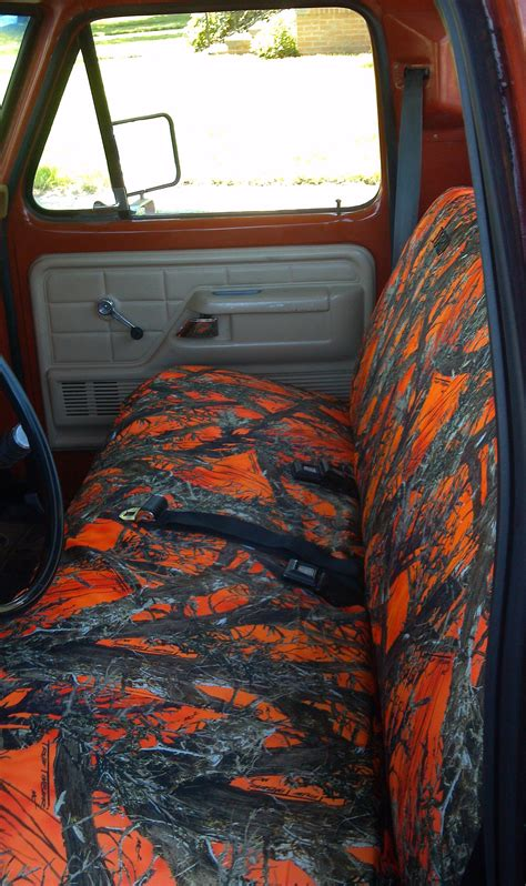ford truck regular cab front solid bench seat