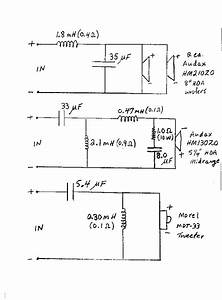 Dick Olsher U0026 39 S Crossover Schematic For His Poly Natalia 3