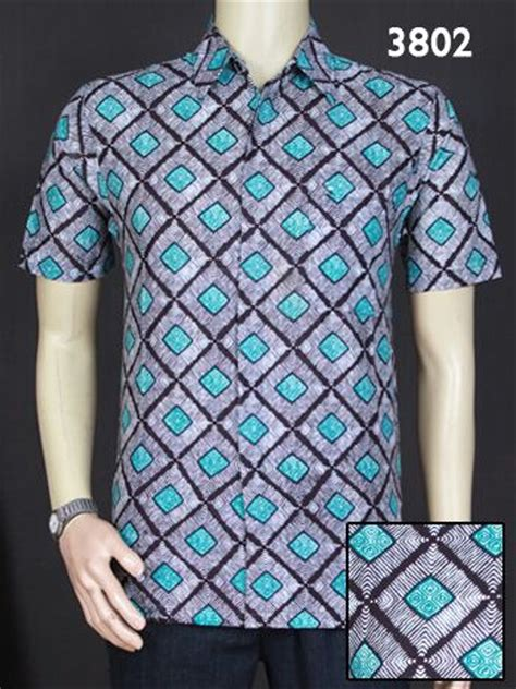 jual kemeja batik pria modern lengan pendek untuk laki laki di lapak hobi plus rahmawansandy98