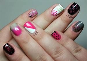 a dozen easy nail patterns the digit al dozen