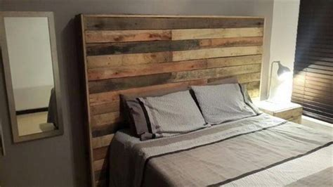 diy upcycled pallet headboard ideas pallet wood projects