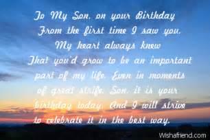 Happy Birthday to My Son in Heaven Poem
