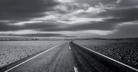 Wallpaper Black And White open road wallpaper black and white wallpaper area hd