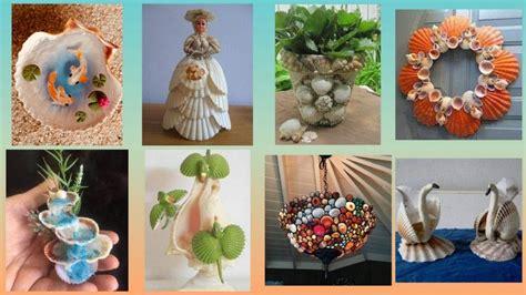 Decorating Ideas Using Seashells by Easy Shells Decoration Ideas Seashell Craft Ideas For