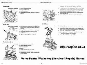 Volvo Penta Engine Manuals  U0026 Parts Catalogs
