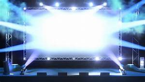 Event Stage With Lights Stock Footage Video 3419300 ...