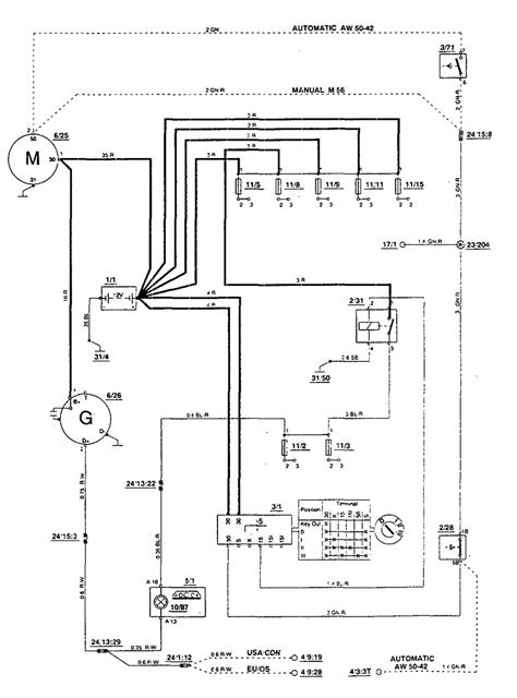 volvo 850 1994 wiring diagrams starting carknowledge