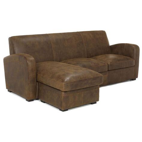 canapé d angle cuir vieilli marron canapé d 39 angle réversible en croute de cuir marron vieilli
