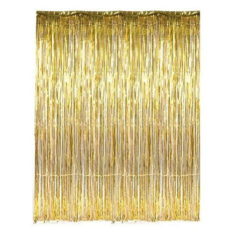 Foil Curtain Backdrop by S Day Pink Metallic Foil Fringe Curtain