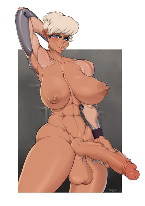 Rule 34 1futa Abs Absurdres Areolae Big Breasts Breasts