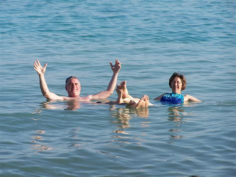 Dead Sea Swimming