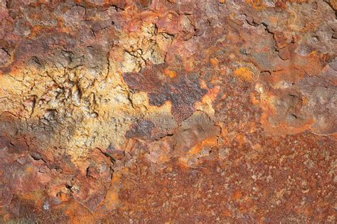 iron rust backdrop down sheet painted