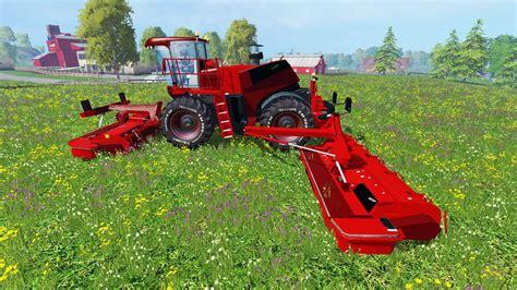 krone big   red  farming simulator