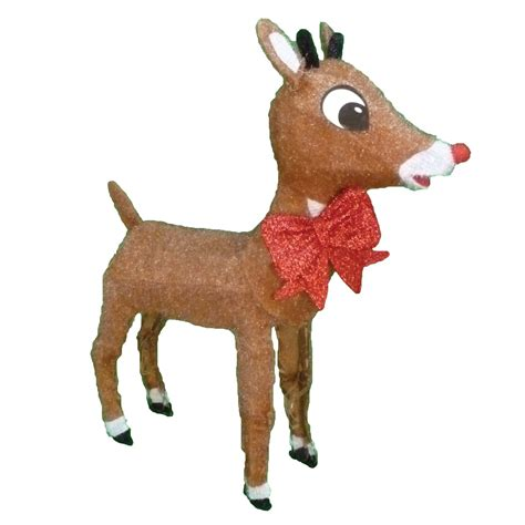 rudolph  red nosed reindeer lightup rudolph outdoor
