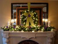 mantel christmas decorations Festive Christmas Mantel Decorating Idea | In My Own Style