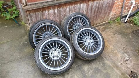 Bmw 18 Inch Alpina Replica Alloy Wheels Rims With Tyres