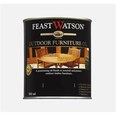 feast watson ml jarrah outdoor furniture oil bunnings