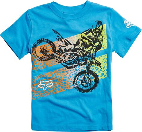 Fox Racing Kids Boys Onaga Motocross Short Sleeve T Shirt