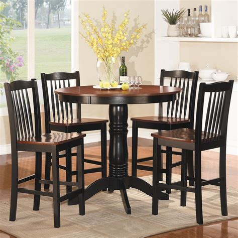 Shop Homelegance Andover Antique Oak/Black Dining Set with