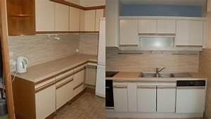 Repeindre Un Meuble En Pin Vernis Sans Poncer : repeindre meuble de cuisine sans poncer youtube ~ Premium-room.com Idées de Décoration