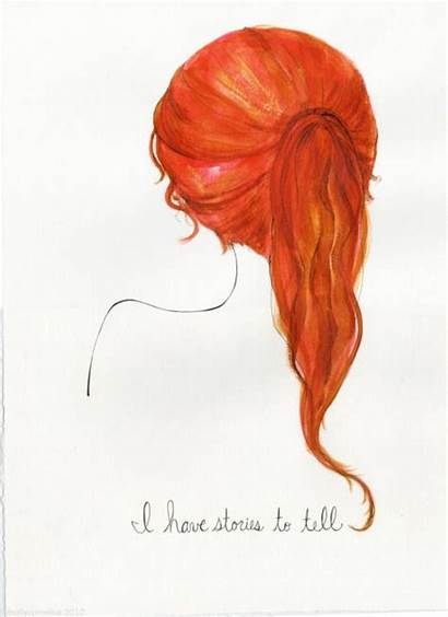 Redhead Hair Redheads Ginger Drawings Quotes Head