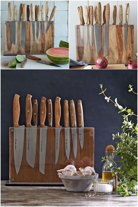 kitchen knife storage solutions there are many ways to your knifes either with 5292