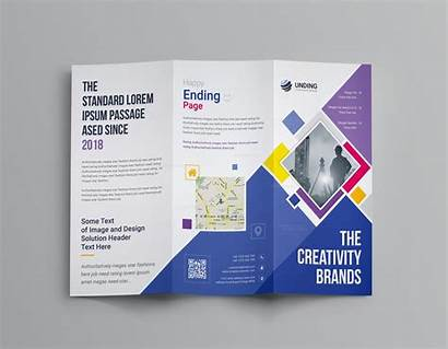 Template Fold Brochure Neptune Tri Corporate Professional