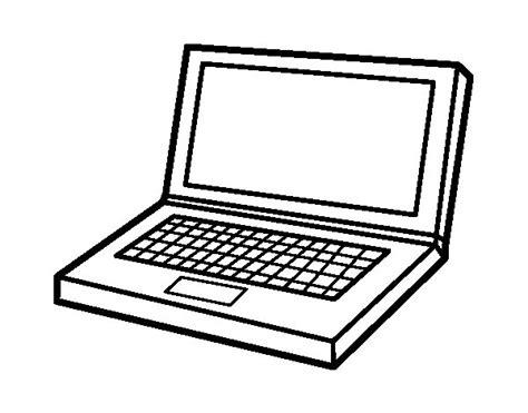 computer laptop coloring page coloringcrewcom