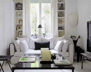 simple but elegant black and white living room interior With black and white interior design living room