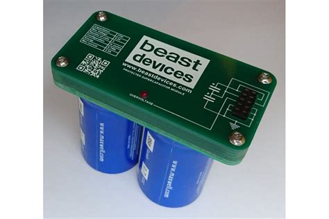 beast supercapacitor   beastdevices  tindie