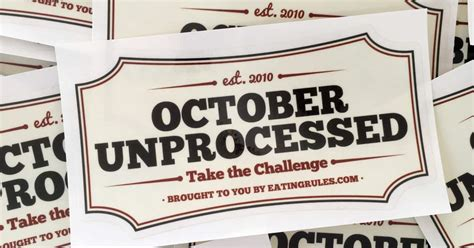 october unprocessed stickers eating rules members site