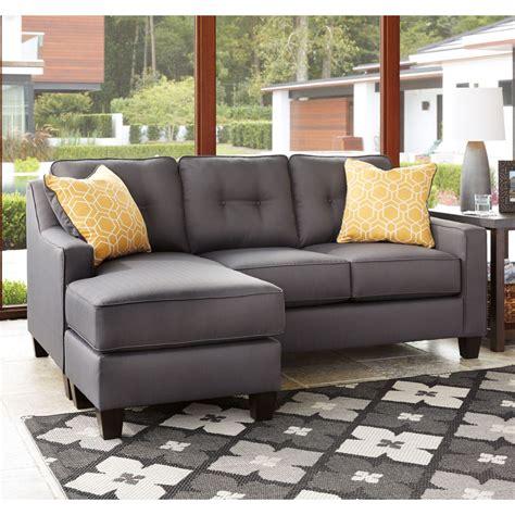 chaise de furniture aldie nuvella sofa chaise in gray local