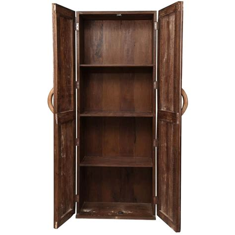 Wooden Armoire Cabinets by Appalachian Rustic Reclaimed Wood Wardrobe Cabinet Armoire