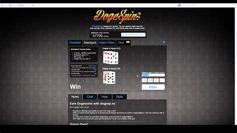 play dogespin  fun  dogecoin  casino youtube