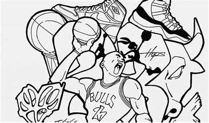 Graffiti Coloring Pages Cool Printable Drawing Basketball