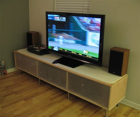 tv stand with mount and glass cabinet door ikea decofurnish