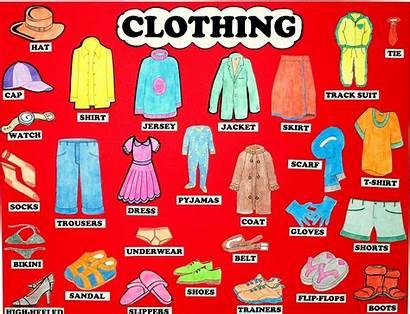 Prendas Clothes Vestir Verb Wear