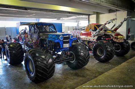 how long does monster truck jam last monster jam is ready to roll out in manila auto industry