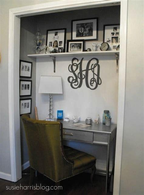 best 25 closet turned office ideas on office