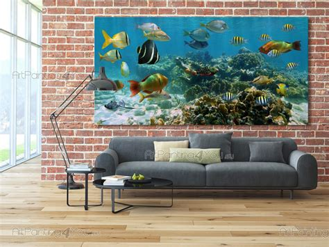 wall murals posters underwater life artpaintingyoueu