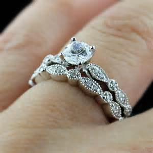 vintage wedding sets fall in with a made engagement ring miadonna the future of